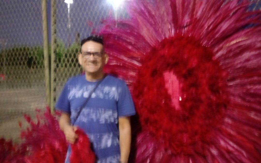 ENTREVISTA COM PAULINHO CABELEIRO QUE É DESTAQUE DO ABRE-ALAS DA VIRADOURO, 23/02/20