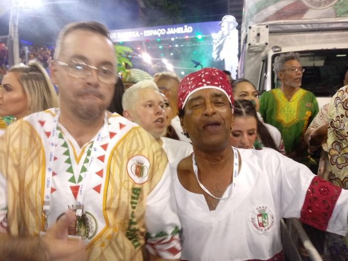 ACADÊMICOS DO GRANDE RIO CARNAVAL 2020: ÁUDIO DO SAMBA NA AVENIDA