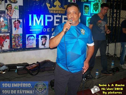 ENTREVISTA COM SÉRGIO ANDERSON UM DOS DIRETORES DE CARNAVAL DO IMPÉRIO DE FÁTIMA