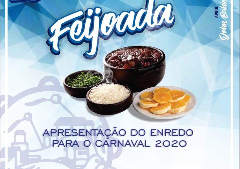 ACADÊMICOS DO DENDÊ FARÁ FEIJOADA NO DIA 25 DE AGOSTO