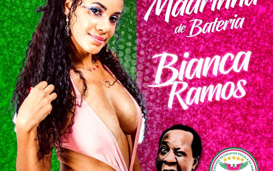 LINS IMPERIAL APRESENTA BIANCA RAMOS COMO MADRINHA DE BATERIA PARA O CARNAVAL 2021