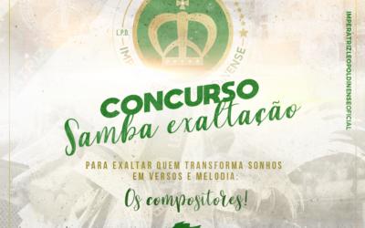 IMPERATRIZ LANÇA CONCUIRSO DE SAMBA EXALTAÇÃO