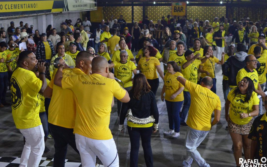 SÃO CLEMENTE REALIZA NOVA ETAPA DA DISPUTA DE SAMBA NESTE SÁBADO