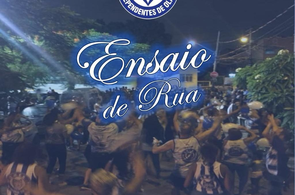 INDEPENDENTES DE OLARIA INICIA ENSAIOS PELAS RUAS DO BAIRRO NESTA TERÇA, 14