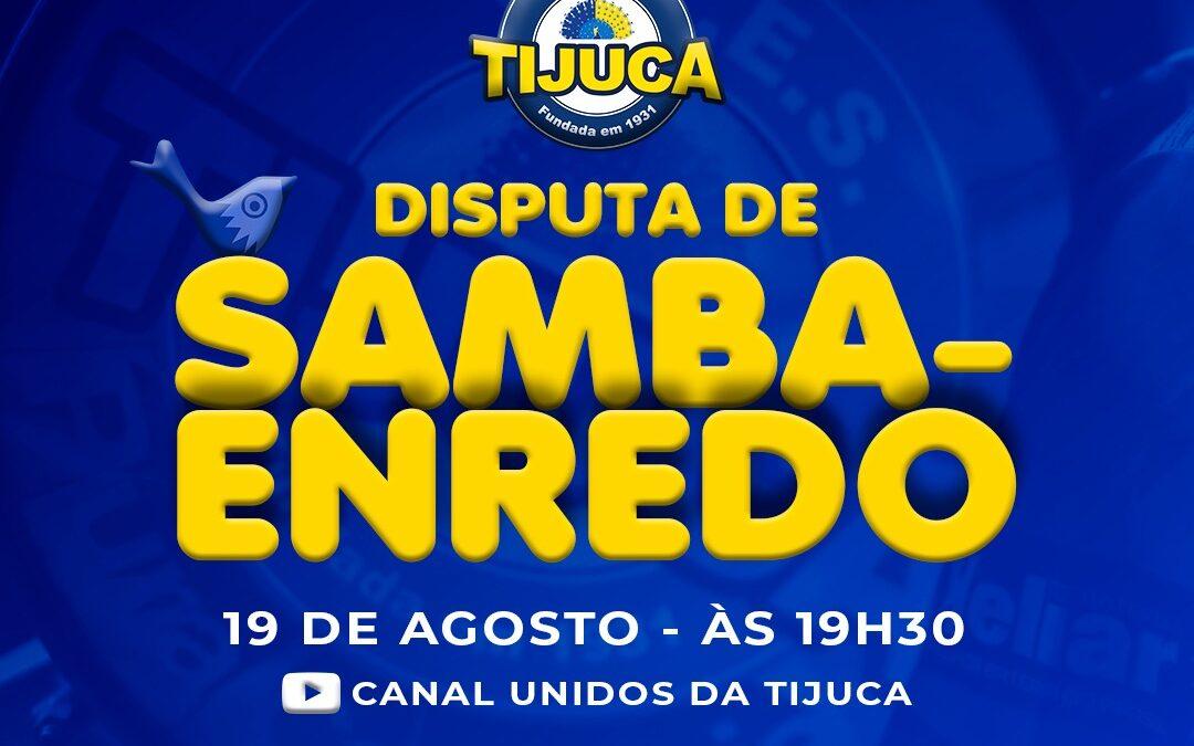 UNIDOS DA TIJUCA REALIZA MAIS UMA ELIMINATÓRIA DE SAMBA-ENREDO NESTA QUINTA-FEIRA