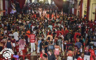 NESTE SÁBADO(13) TEM FEIJOADA VERMELHA E BRANCA NO BERÇO DO SAMBA COM ESTÁCIO DE SÁ E SALGUEIRO