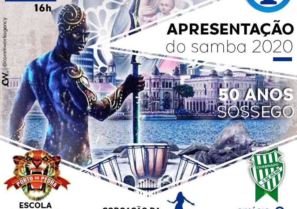 SOSSEGO PROMOVE GRANDE FESTA PARA LANÇAMENTO DO CARNAVAL 2020 NO PRÓXIMO SÁBADO