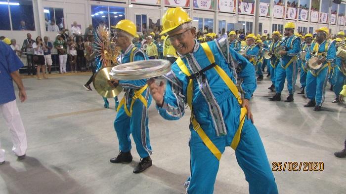UNIDOS DA TIJUCA, CARNAVAL 2020: ÁUDIO DO SAMBA NA AVENIDA