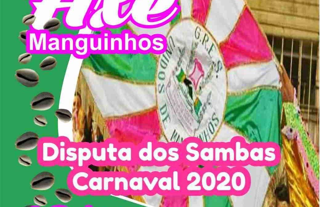UNIDOS DE MANGUINHOS INSCREVE SAMBAS DIA 15 E APRESENTA NO DOMINGO