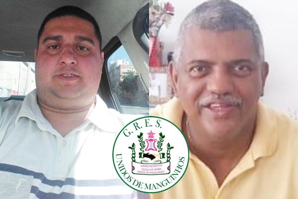 RODRIGO FIDALGO E CARLOS VOTTERO SÃO OS NOVOS DIRETORES DE CARNAVAL DA MANGUINHOS