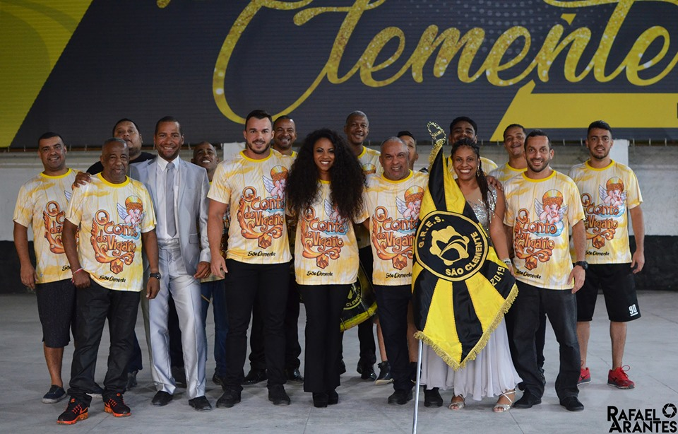 SÃO CLEMENTE COMEÇA DISPUTA DE SAMBA NESTE SÁBADO (10 )