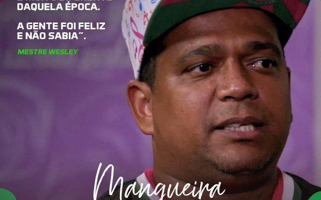 MANGUEIRA EM 2 TEMPOS: PRÉ-ESTREIA DO FILME INSPIRADO NA TRAJETÓRIA DO MESTRE WESLEY DA MANGUEIRA