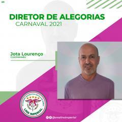 LINS IMPERIAL TERÁ DIRETOR DE ALEGORIAS PARA O CARNAVAL 2021